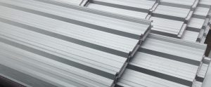 Kingsley Roofing Zinc sheeting