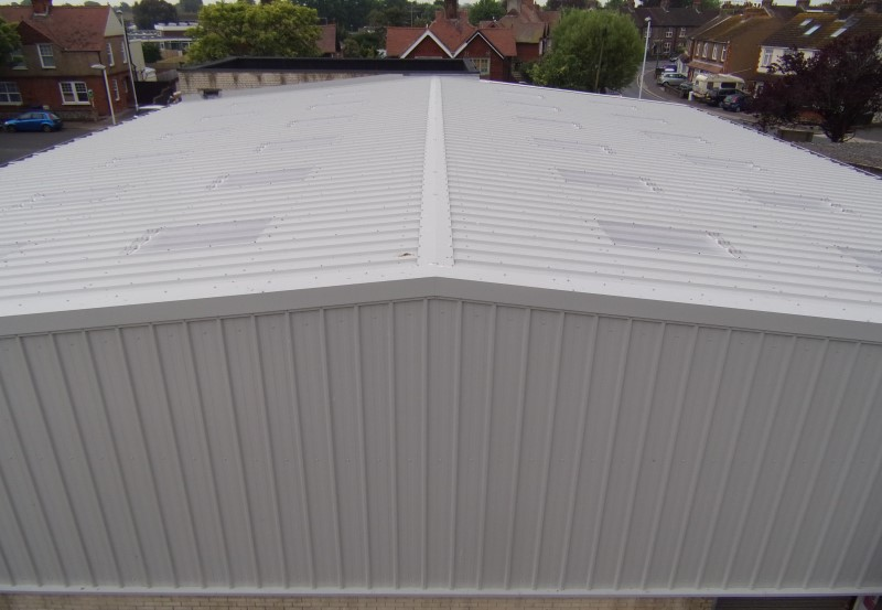 Composite cladding and roofing