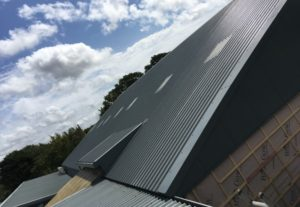 industrial roofing, reroofing and sheeting