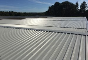plastic over roofing sheeting
